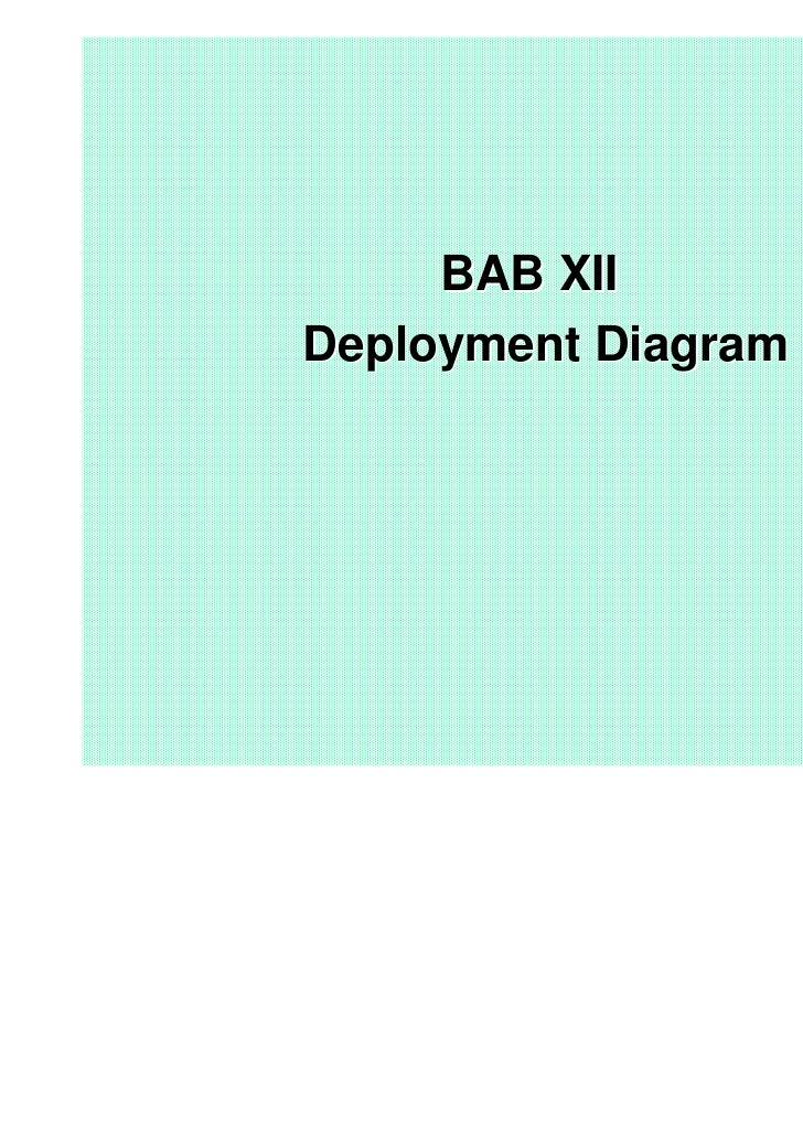 BAB XIIDeployment Diagram
