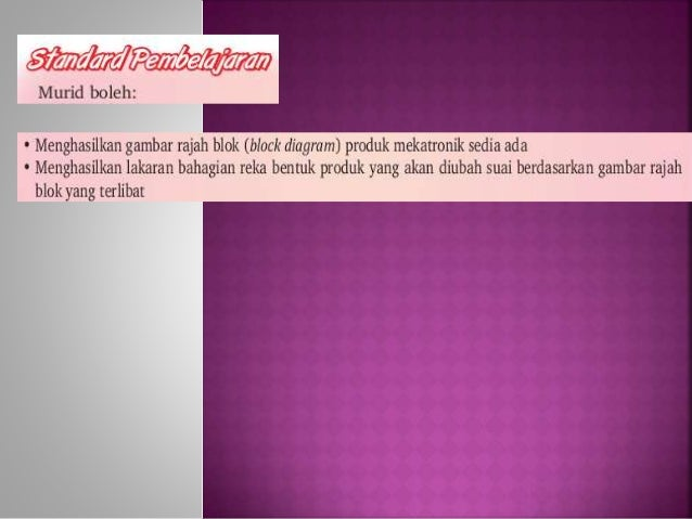 Bab 1 aplikasi teknologi bhg 2 (mekatronik) Slide 2