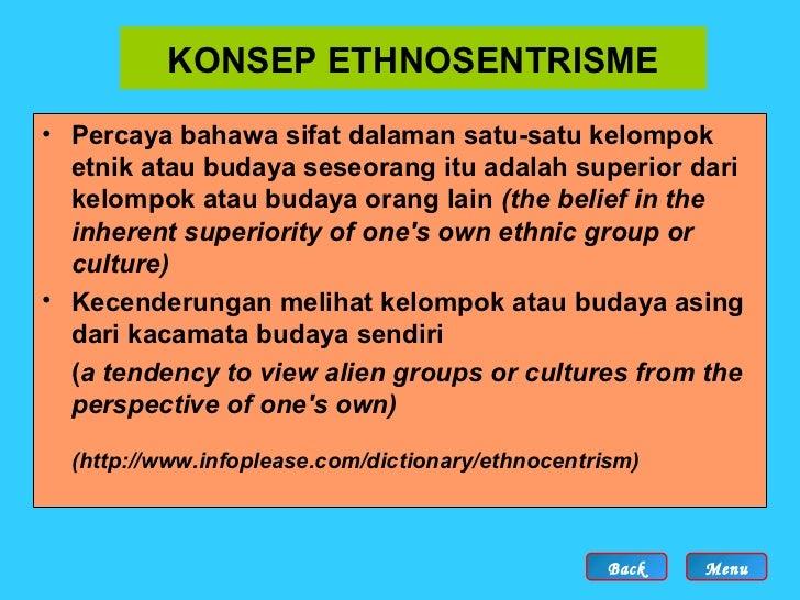hubungan etnik Secara fakta sejarah dan berdasarkan cara kita menguruskan hubungan etnik di negara ini sama ada dasar pendidikan, agihan kuasa politik atau agihan ekonomi, sukar untuk kita melihat konsep bangsa malaysia yang sebenar-benarnya wujud dalam tempoh lima puluh tahun akan datang.