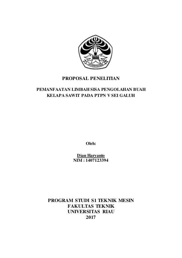 Proposal Penelitian Contoh