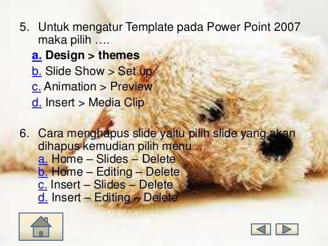 Bab 2 Cara Kerja Microsoft Power Point 2007