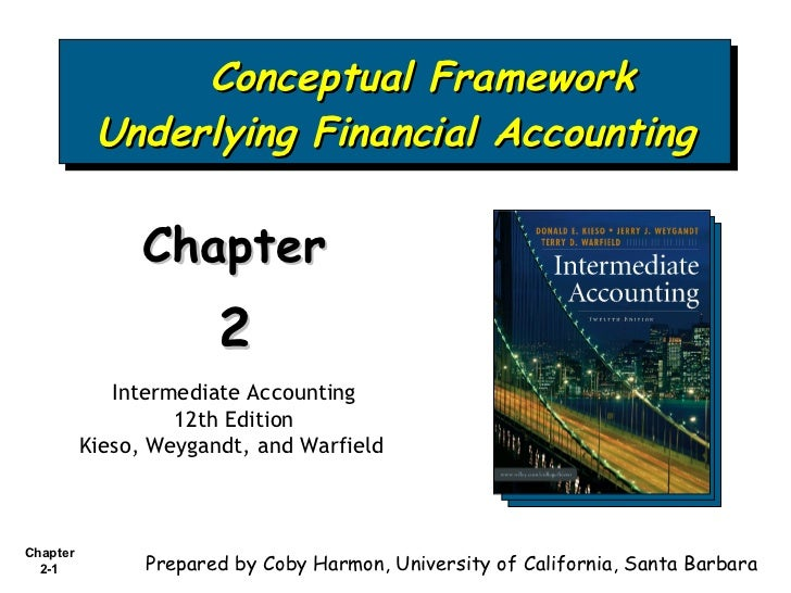 Conceptual Framework Underlying Financial Accounting Chapter  2 Intermediate Accounting 12th Edition Kieso, Weygandt, and ...