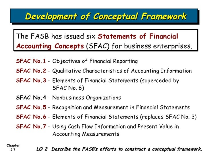 conceptual framework and financial statements The fasb proposed an update to the presentation guidance in the conceptual  framework that could impact all stakeholders.