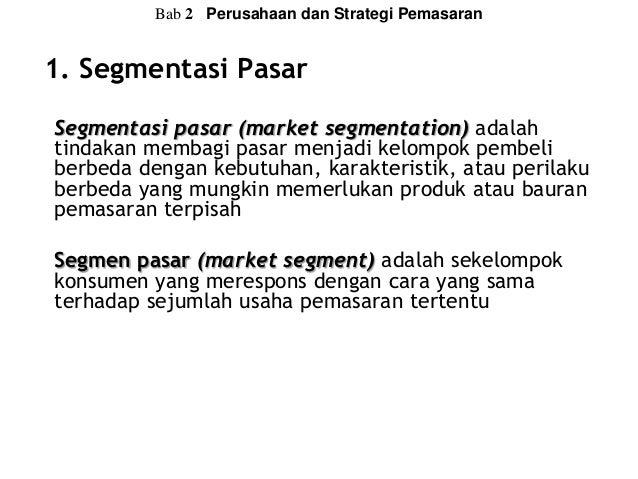 Image Result For Strategi Pemasaran Yang Tidak Menerapkan Segmentasi Pasar Adalah