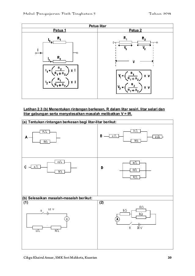 Soalan Fizik Litar Elektrik - Tersoal n