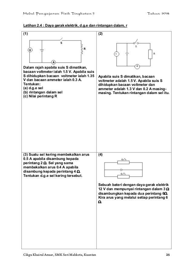 Latihan Fizik Tingkatan 4 Dan Jawapan | Anirasota