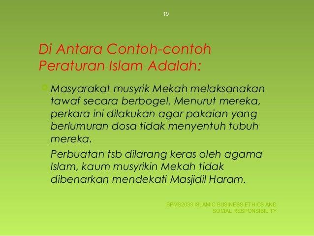 Di Antara Contoh-contoh Peraturan Islam ... b303807625