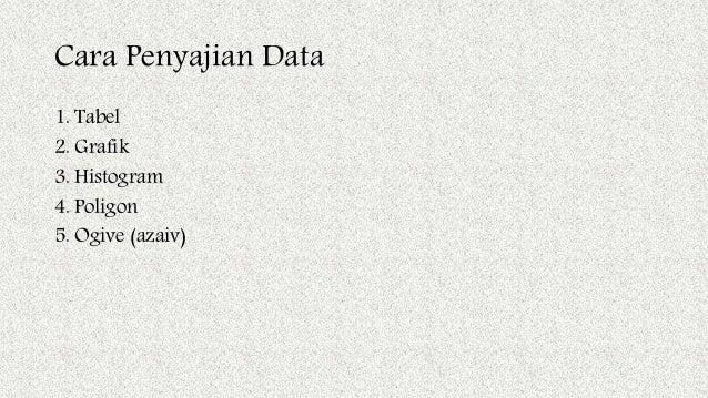 Bab 2 penyajian data 3 cara penyajian data ccuart Choice Image