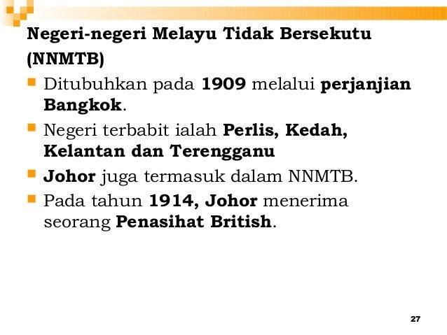 Faktor Faktor Perluasan Kuasa British Di Negeri Negeri Melayu Tidak Bersekutu Lessons Tes Teach