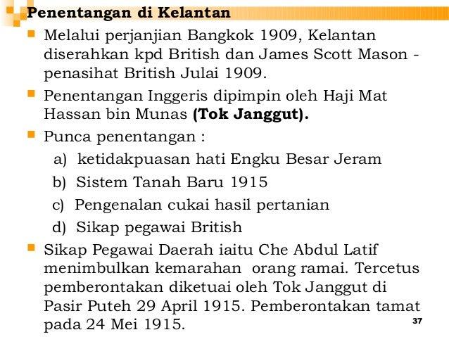 Penentangan Di Kelantan Kumpulan 6 Lessons Tes Teach