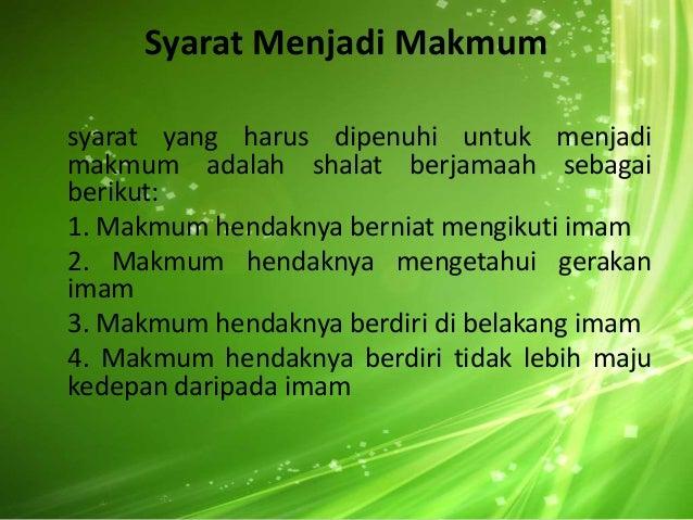 Bab 3 Shalat Berjamaah