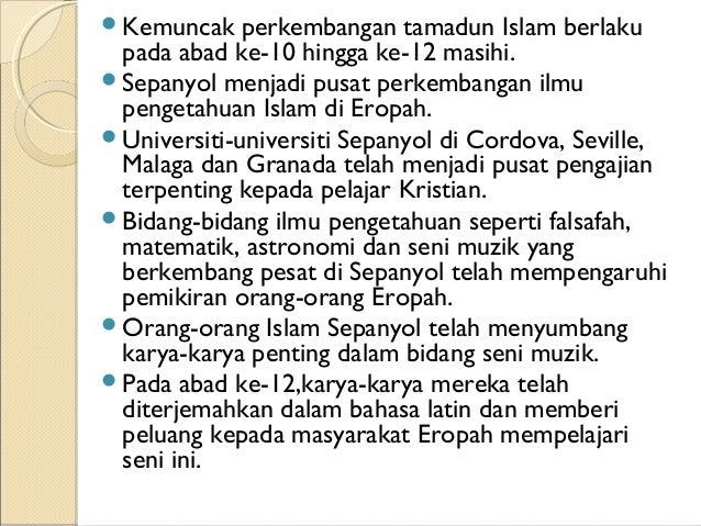 Kepentingan kepada pelajar mempelajari tamadun islam