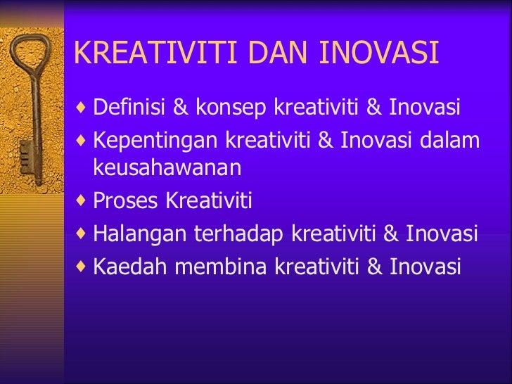 Bab 3 Kreativiti Dan Inovasi