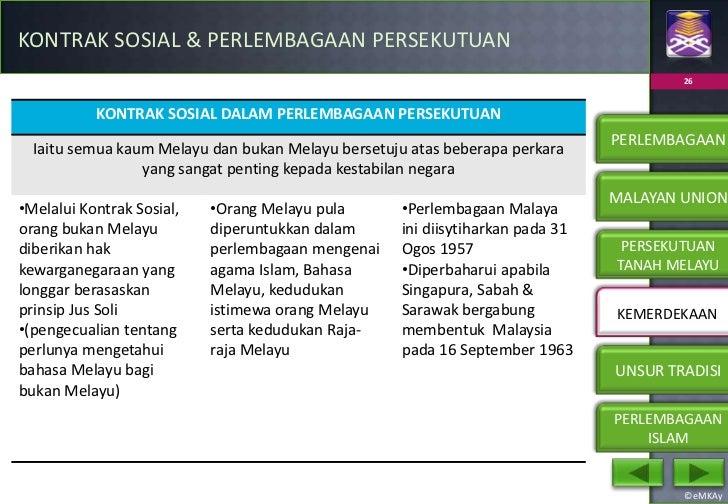 Bab 3 Hubungan Etnik Perlembagaan Malaysia Hubungan Etnik