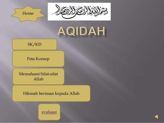 Home  SK/KD Peta Konsep  Memahami Sifat-sifat Allah Hikmah beriman kepada Allah  evaluasi  -