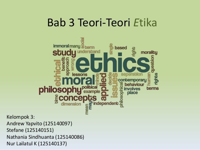 Bab 3 Teori Teori Etika