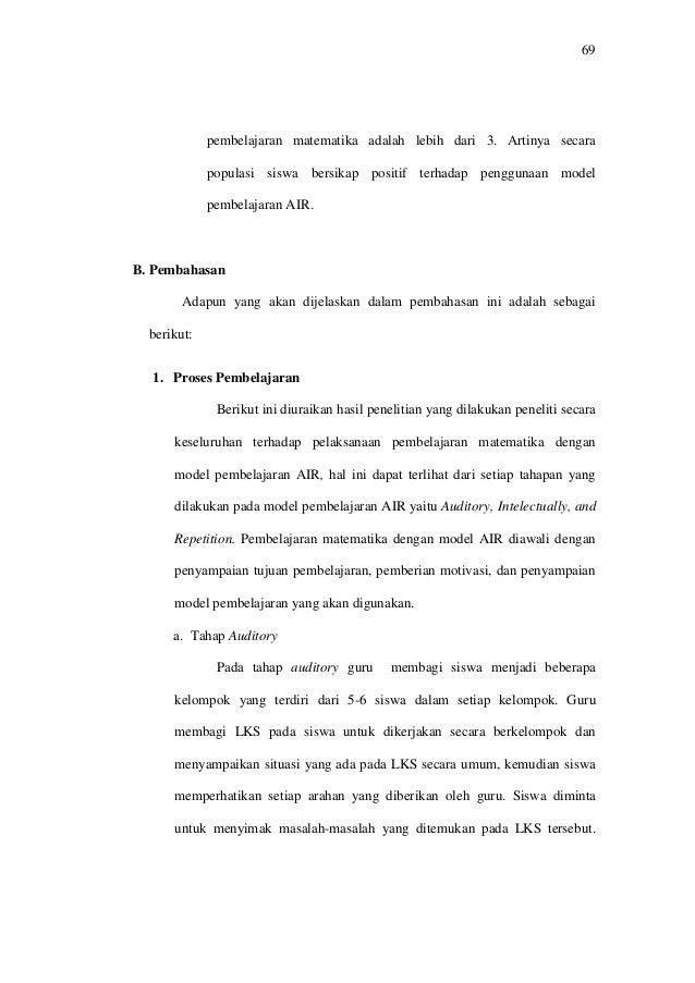 Contoh Skripsi Bab 4 Penelitian Kuantitatif