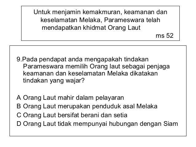 Sejarah Tingkatan 1 Bab 4 Pengasasan Kesultanan Melaka