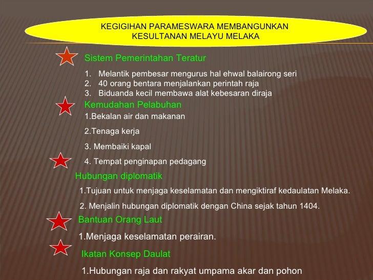 Bab 4 Pengasasan Kesultanan Melayu Melaka