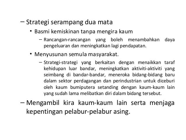 Bab 4 Pembangunan Ekonomi Dlm Konteks Hubungan Etnik Di Msia
