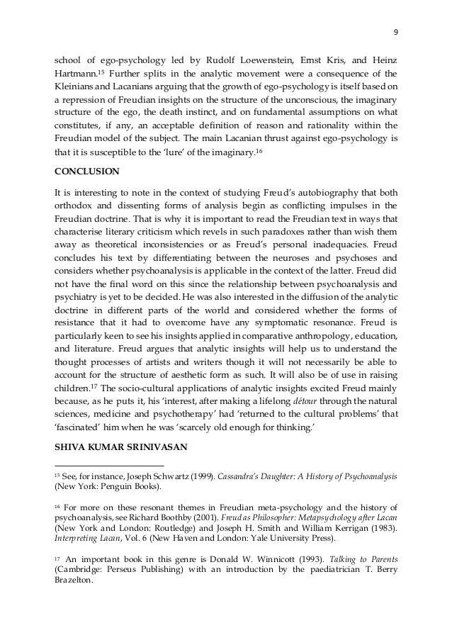 Freud repression study