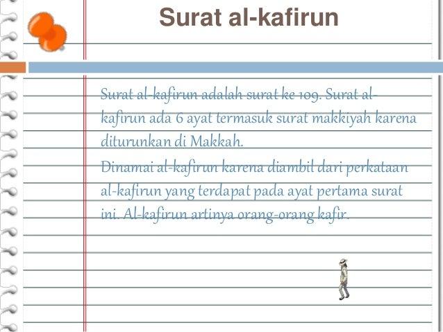 Bab 4 Al Kafirun