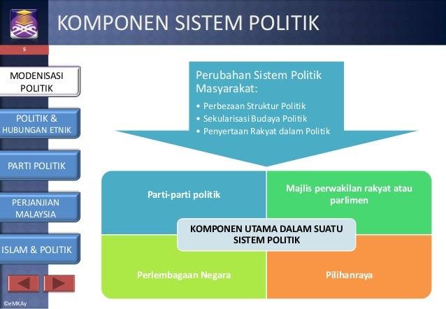 PEMBANGUNAN POLITIK & HUBUNGAN ETNIK