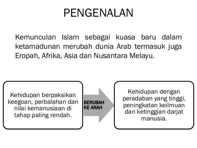 Bab 5 Sumbangan Tamadun Islam Terhadap Peradaban Dunia