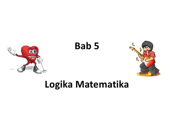 Materi Logika Matematika Sma Doc