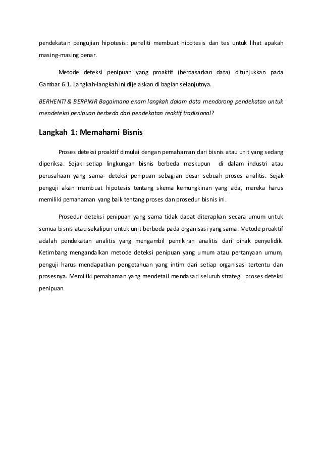 Bab 6 Deteksi Penipuan Basis Data