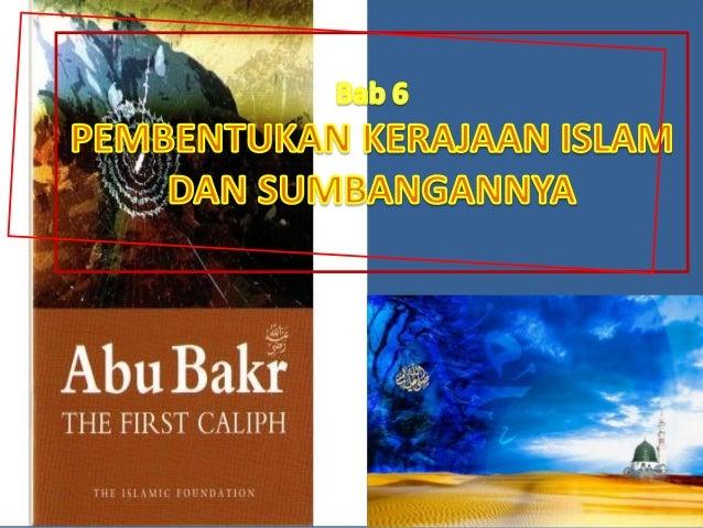 • Khalifah bermaksud pengganti • Khulafa al-Rasyidin bermaksud pengganti-pengganti selepas kewafatan Nabi Muhammad s.a.w. ...