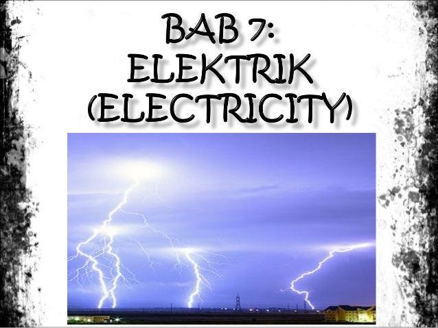          Elektrik statik – cas elektrik yang pegun atau tidak bergerak Kajian elektrik statik disebut elektrostatik. ...
