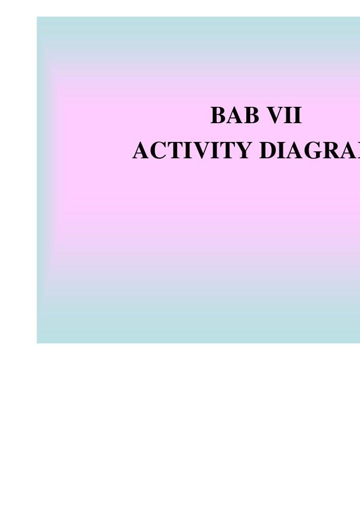 BAB VIIACTIVITY DIAGRAM
