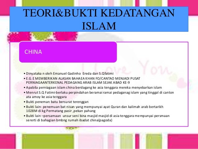 Sejarah Tingkatan 4 Bab 7 Islam Di Asia Tenggara