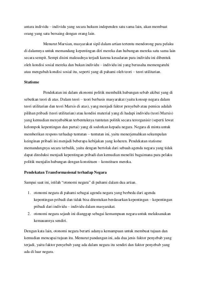Resume buku james caporaso dan levine Bab 8