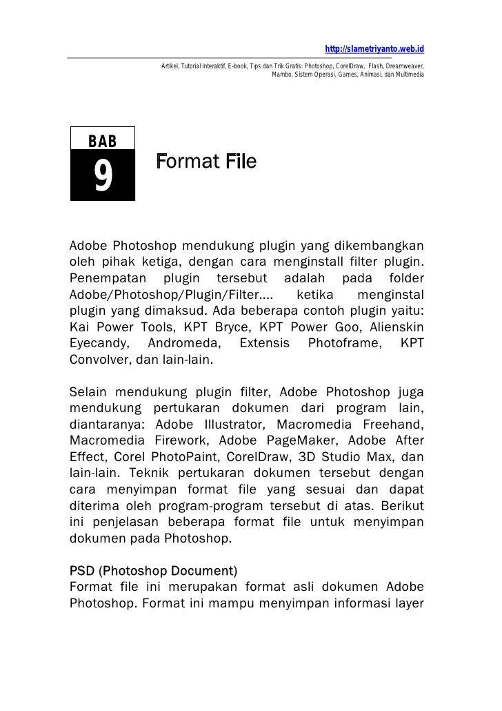 Bab9 Format File