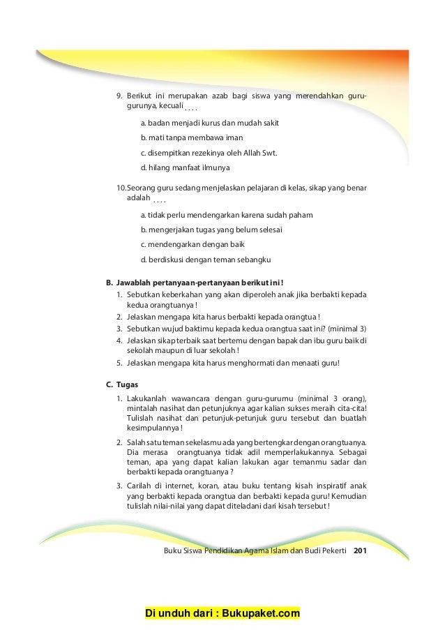 Soal Dan Jawaban Tentang Berbakti Kepada Orang Tua - Bali ...