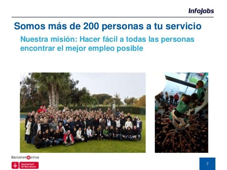 Somos más de 200 personas a tu servicio Nuestra misión: Hacer fácil a todas las personas encontrar el mejor empleo posible...