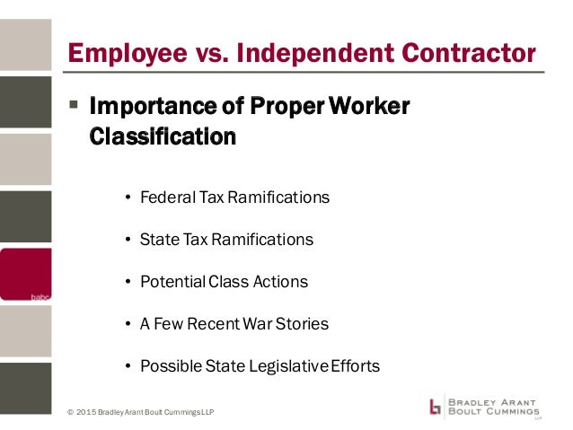Understanding Employee vs. Contractor Designation