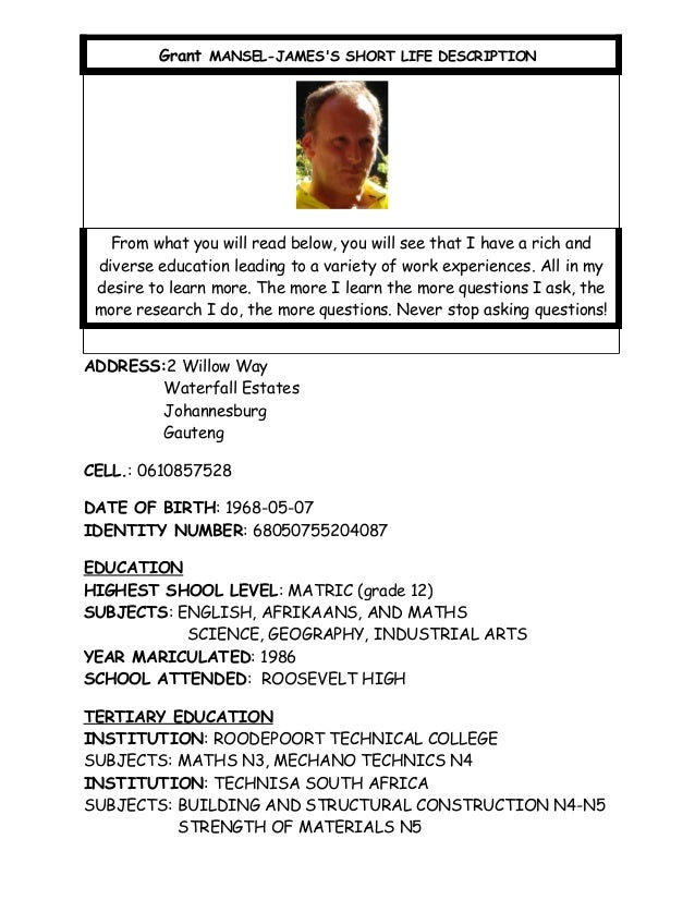 mansel james life description 2 rh slideshare net Social Studies Study Guide Examples Study Guide