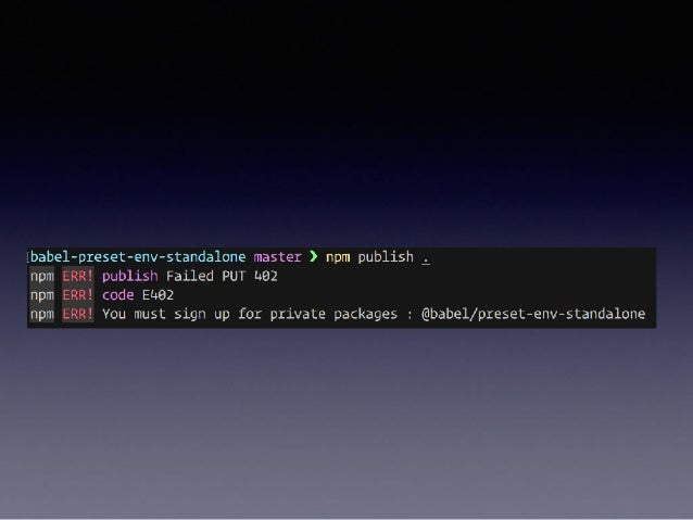 install babel 7 npm