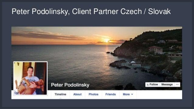 Peter Podolinsky, Client Partner Czech / Slovak