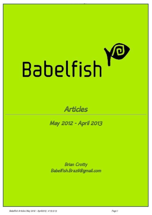 53ba07e5957 Babelfish  Articles May2012 April2013 15-5-13
