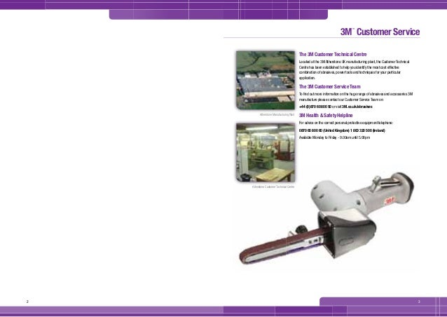3M Abrasives ASD Catalogue 2011