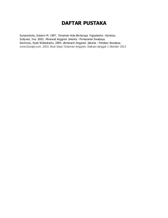 Contoh Daftar Pustaka Untuk Makalah Pkn Contoh Karo