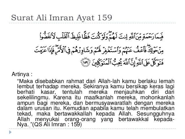 Citaten Quran Beserta Artinya : Demokrasi dalam islam
