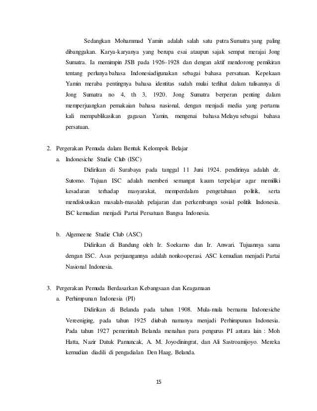 Makalah Organisasi Pergerakan Di Indonesia