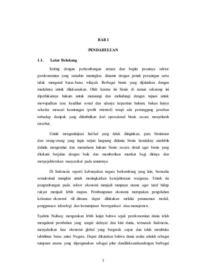 Makalah Waralaba Di Indonesia