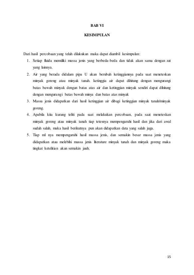 Laporan Fisdas Hukum Archimedes Dan Hukum Utama Hidrostatis