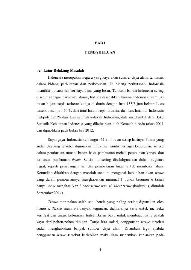 Contoh Karya Tulis Ilmiah Bab 1 Pendahuluan Ljmflnjl Info